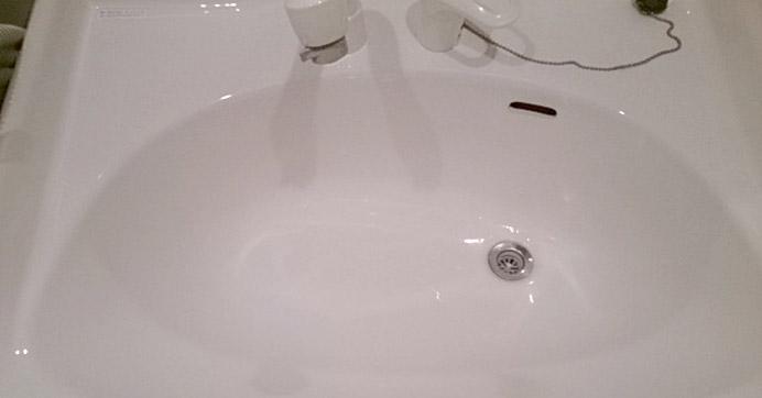 大阪市西淀川区歌島 洗面所の排水詰まり除去
