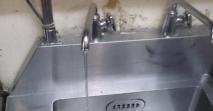 西淀川区キッチン水漏れ