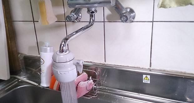八尾市弓削町 台所蛇口の水漏れ修理