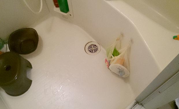 鎌倉市小町 お風呂の排水つまり