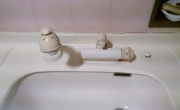綾瀬市寺尾台 洗面台の水栓交換