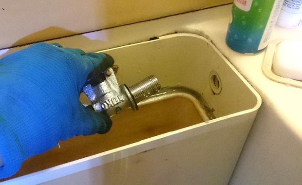 世田谷区池尻 トイレの水漏れ修理