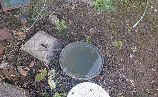 横浜市南区真金町 排水管詰まりトラブル