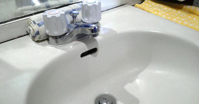 豊島区上池袋 戸建て洗面台のつまり除去