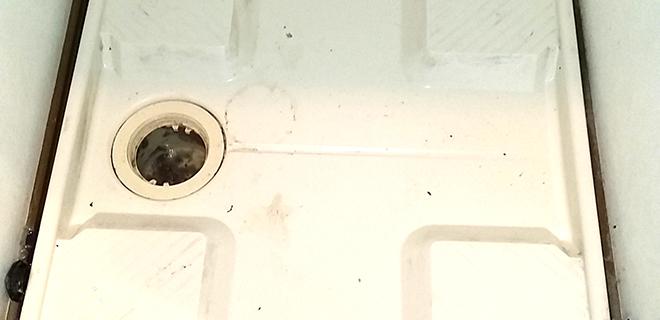 泉佐野市 洗濯場階下漏水トラブル