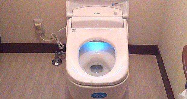 調布市 トイレ水漏れにより便器の交換