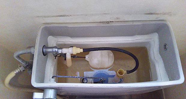 国分寺市 トイレタンクの水漏れ修理