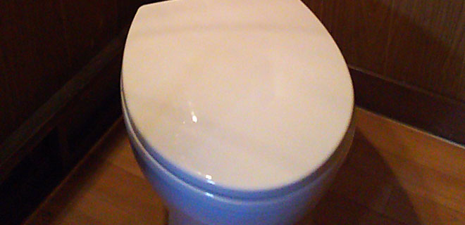 日野市 トイレ便器の水漏れ