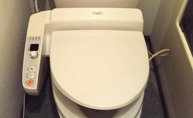 神戸市東灘区 トイレがつまって水が流れない