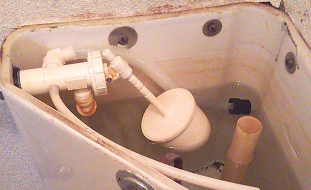 大阪市西区 トイレの水が止まらなくなった
